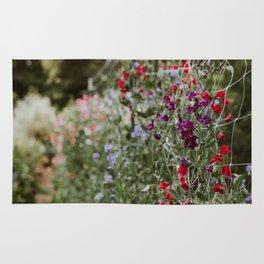Sweet Pea Garden Rug