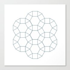 #283 Council – Geometry Daily Canvas Print