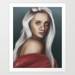 Manon Blackbeak Art Print