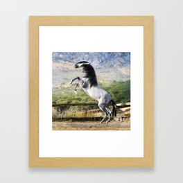 Embroque Framed Art Print