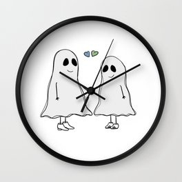 Two Ghosts Wall Clock