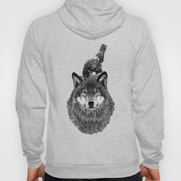Wolf and Crow Hoody