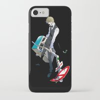 durarara iPhone & iPod Cases featuring Heiwajima Shizuo 1 by Prince Of Darkness