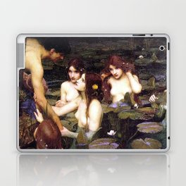HYLAS AND THE NYMPHS - WATERHOUSE Laptop & iPad Skin