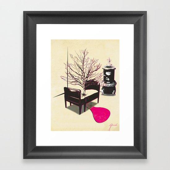 No rest for the restless... Framed Art Print