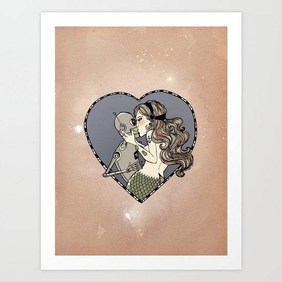 Strange Lovers 2 Art Print