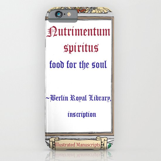 Berlin Library Inscription iPhone & iPod Case