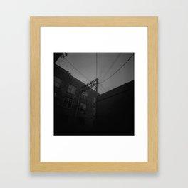 Power Corner Framed Art Print