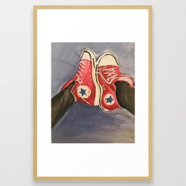 Kickin It Framed Art Print