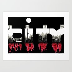 THIS CITY Art Print