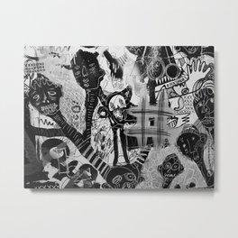 The Evil inside - mural 02 Metal Print