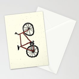 Red Mountain Bike Stationery Cards