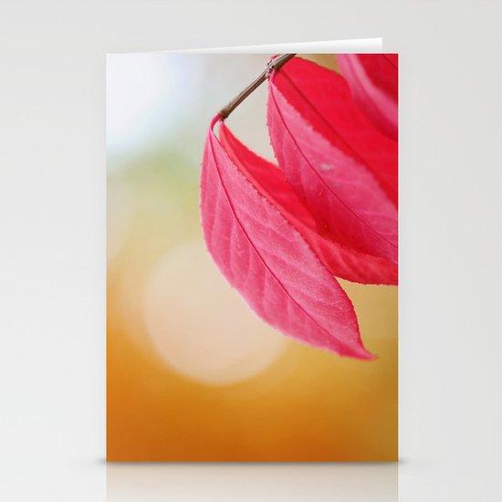 Autumn Glow Stationery Cards