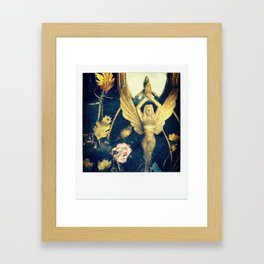 stretch your wings Framed Art Print