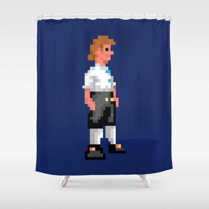 I Wanna Be A Pirate Shower Curtain