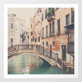 wandering the streets of Venice ... Art Print