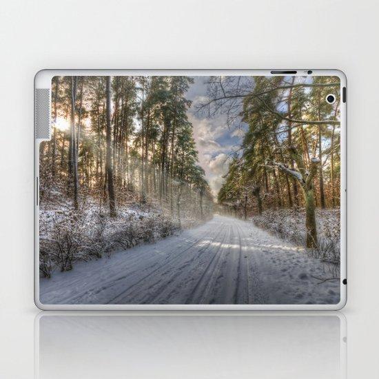 Snow beams Laptop & iPad Skin