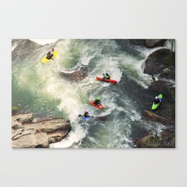 Tallulah Boaters Canvas Print