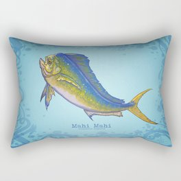 Mahi Mahi ~ Coryphaena hippurus ~ (Copyright 2015) Rectangular Pillow