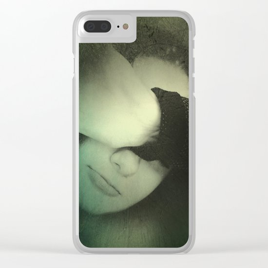 One portrait Clear iPhone Case