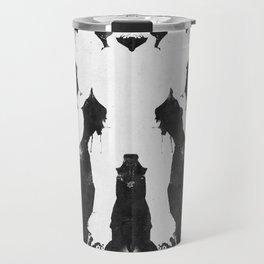 Samus Aran Metroid Geek Psychological Diagnosis Ink Blot  Travel Mug