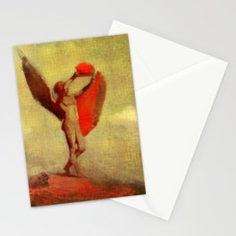 "Odilon Redon ""Icarus"" Stationery Cards"