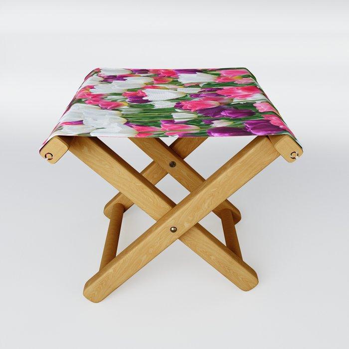 Tulipmania Folding Stool