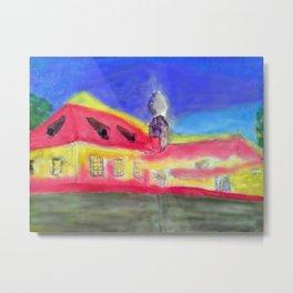 Kleine Wallfahrtskirche bei Kelheim Metal Print
