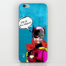 Batgirl iPhone & iPod Skin