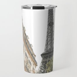 Eiffel tower architecture Travel Mug