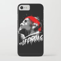 lebron iPhone & iPod Cases featuring Lebron J by squadcore