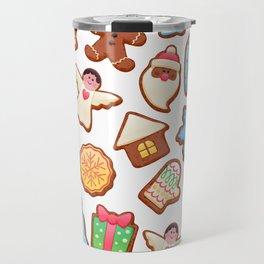 Christmas Cookies Travel Mug