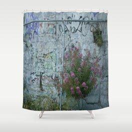 Grafetti Flowers Harmony Shower Curtain