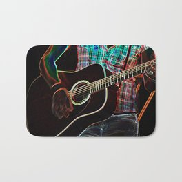 Guitar 1 Bath Mat