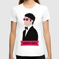 darren criss T-shirts featuring Darren Criss with pink shades! by byebyesally