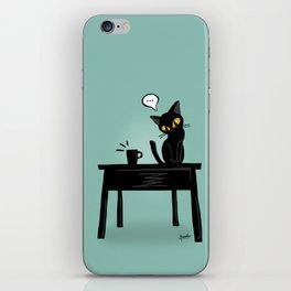 Drop it down iPhone Skin