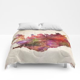Iceland map Comforters