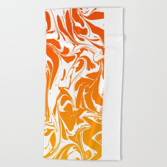 EASE UP YOUR MIND Beach Towel