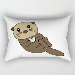 Baby Love Otter Rectangular Pillow