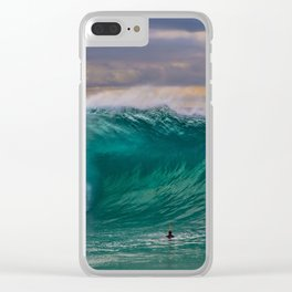 Empty Wedge Cavern Clear iPhone Case