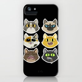 Set of Cats iPhone Case