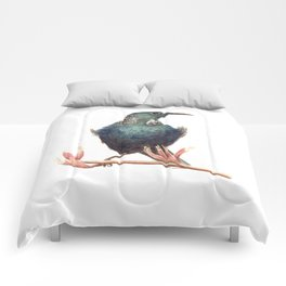 Tui - a native New Zealand bird 2013 Comforters