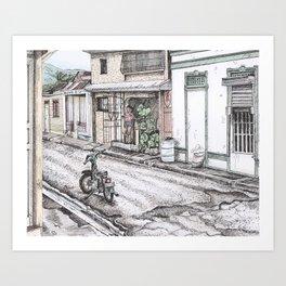 Puerto Plata Art Print