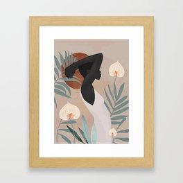 Tropical Girl 4 Framed Art Print