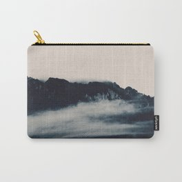 Fog in Mountains #1 #nature #art #society6 Carry-All Pouch