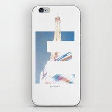 E for Eiffel iPhone & iPod Skin