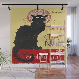 Tournee Du Chat Noir - 1896 Poster Wall Mural