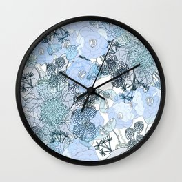 Blue is your color Wall Clock
