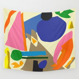 Abstract morning Wall Tapestry