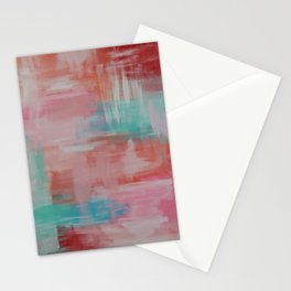 Abstract Wall Art Stationery Cards